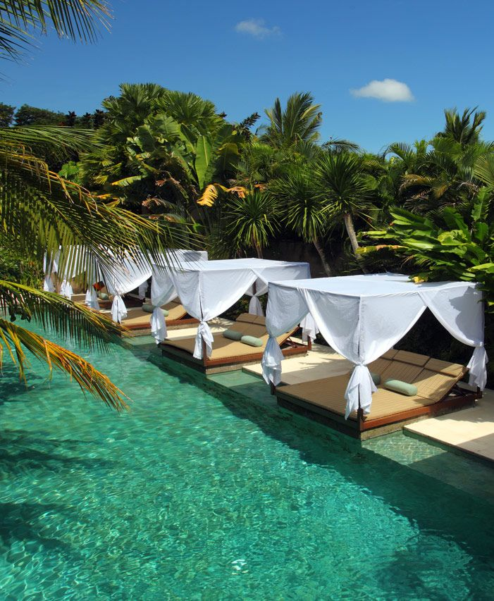 The Elysian Boutique Villa Hotel in Bali: cubist oasis in fashionable Seminyak.