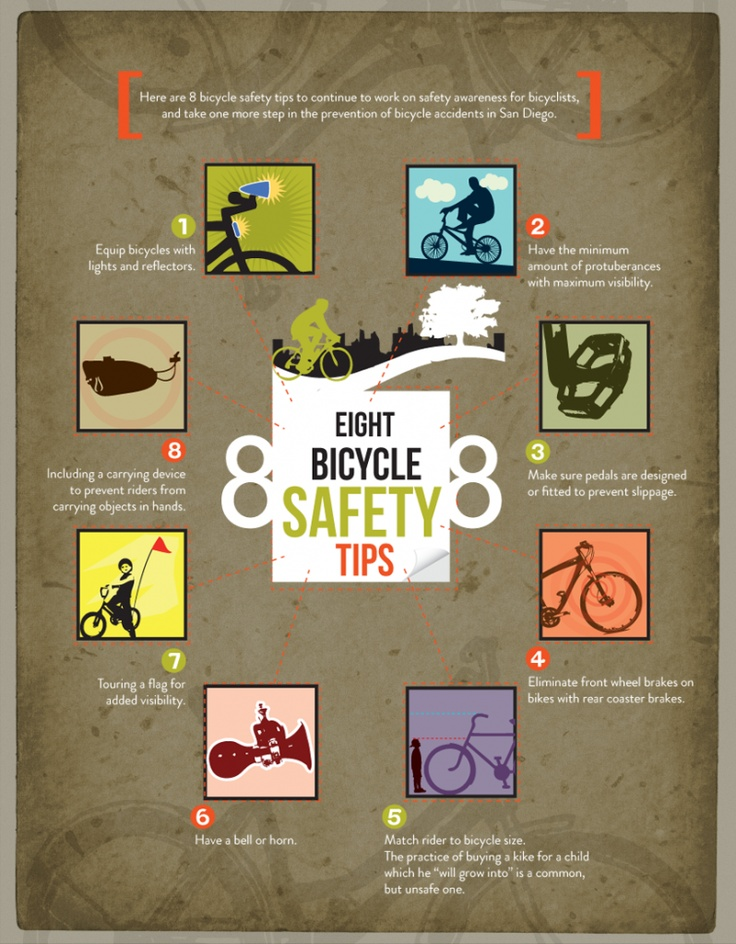 8 bicycle safety tips - for my great nephew, who is recovering from a horrific bicycle accident; thoughts and prayers are with you!!