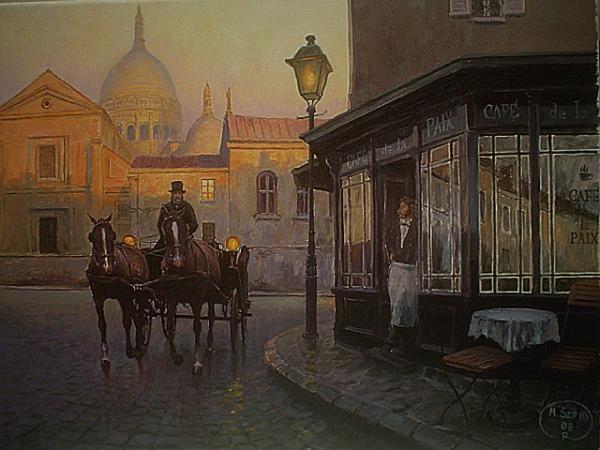 Miroslaw Scheib - Montmartre