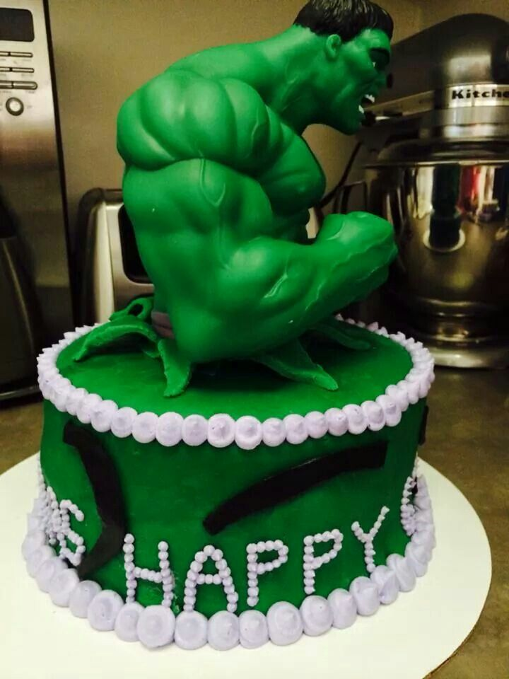 Hulk - For all your cake decorating supplies, please visit craftcompany.co.uk