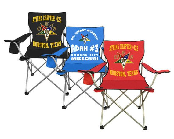 Personalized OES Folding Chair / Order of Eastern Star