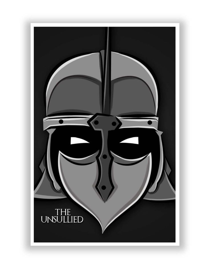 The Unsullied | Game of Thrones Poster