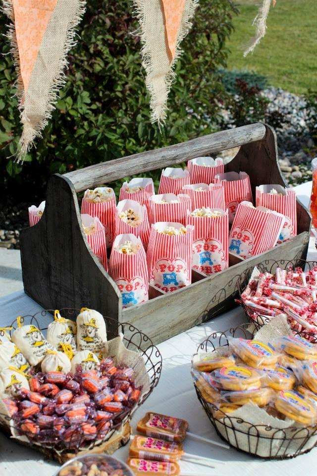 Wedding snack bar---hmmm