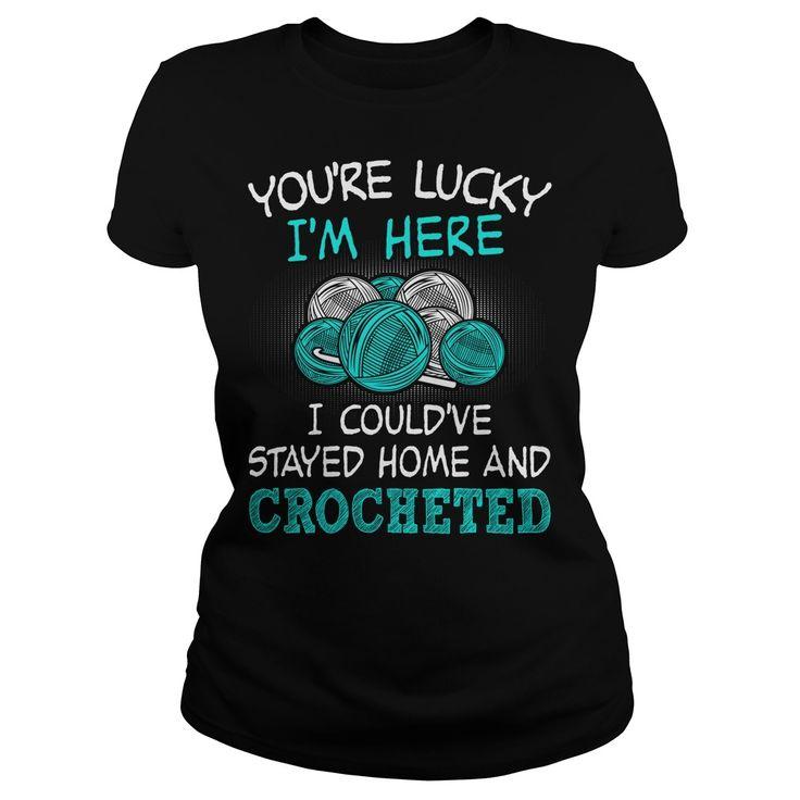 Funny crochet shirt :)