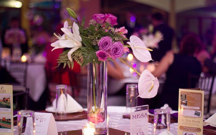 Prepara un hermosos centro de mesa elegante para tu boda - Centros de mesa elegantes ...