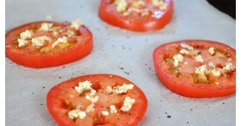 Ingredients   1 large organic tomato, cut into fourths horizontally  1/4 cup freshly grated Parmesan cheese  1/4 cup bread crumbs (gluten ...