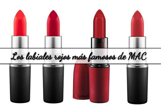 Los #labiales rojos más famosos de #MAC. Un artículo que te muestra los 4 labiales más populares y vendidos de esta línea de cosméticos. #makeup http://susierodena.com/2014/12/los-labiales-rojos-mas-famosos-de-mac/