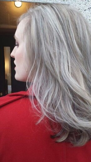 Silver fox with Davines A New Colour