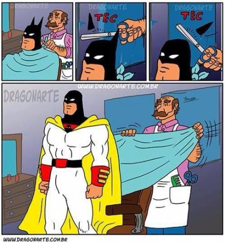 Little off the top--Space Ghost ^_^