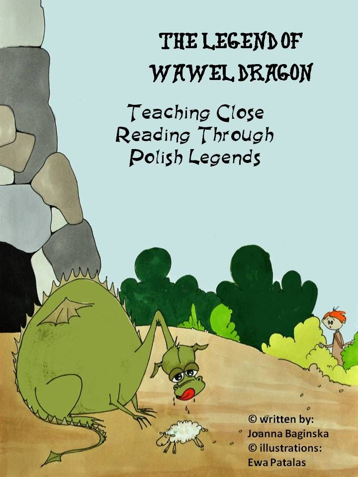 """Free: Common Core close reading: literature passage - """"The Legend of Wawel Dragon"""" Take your students on an exciting reading journey to a place they have never been before…medieval Poland. This is one of the most famous Polish legends for kids. Included is also a worksheet with 5 comprehension questions anda story map."""