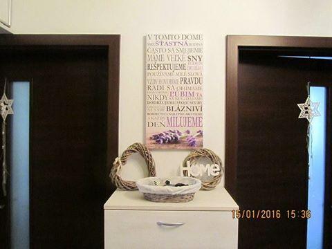 Ďakujeme veľmi pekne za fotku:-) Obrazy s textami nájdete v predaji tu: http://artsablony.sk/obchod/obrazy-s-textom