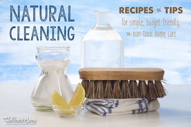 Use these natural cleaning tips to clean your whole house naturally: floor cleaners, all purpose cleaner, window spray, and more.