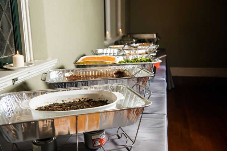 Putting Together A Couture Potluck Wedding Reception