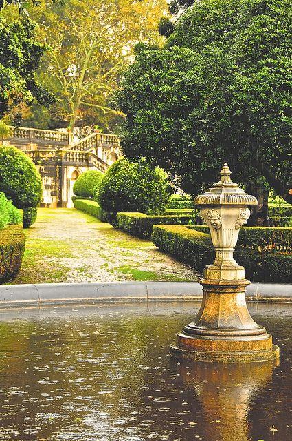 Ajuda Garden, Lisbon, Portugal