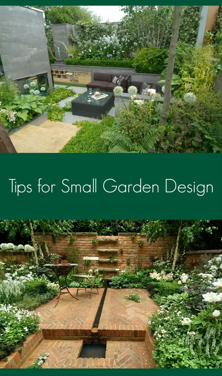 Click image for 10 Professional Tips for Designing in Small Gardens