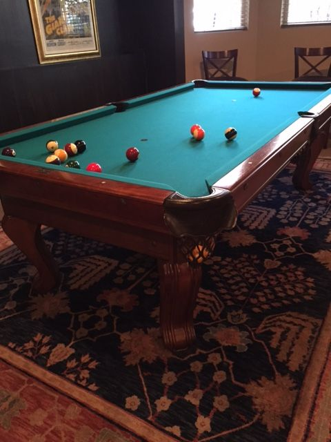 1000 images about used pool tables for sale on pinterest for Brunswick pool