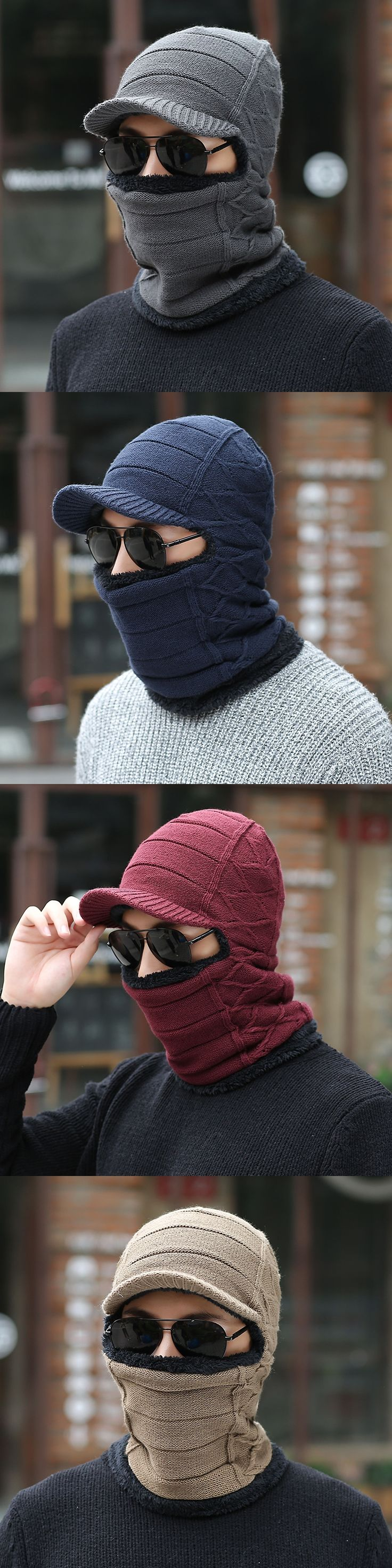 The 25 best knitted balaclava ideas on pinterest knitting skull mask balaclava face mask winter hat for women men knitted cap neck warmer caps winter bankloansurffo Images