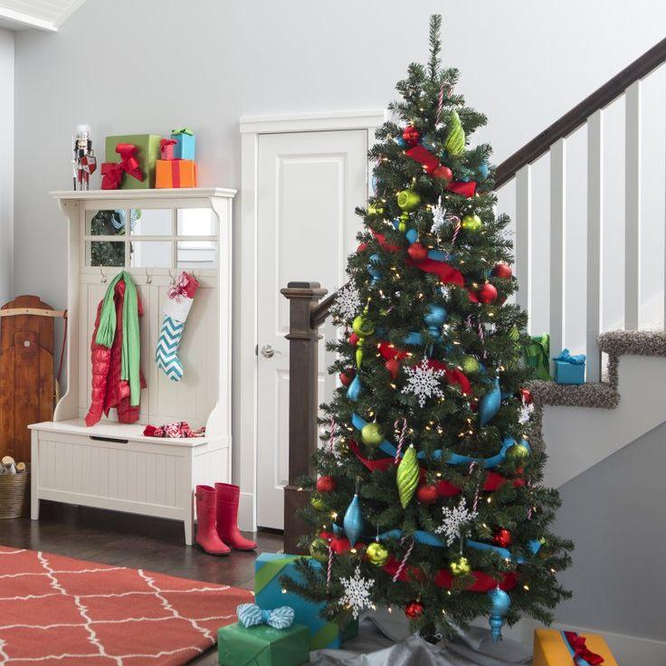 Classic Pre-lit Christmas Tree - 7.5 ft. - 3NK76S-936-300LC
