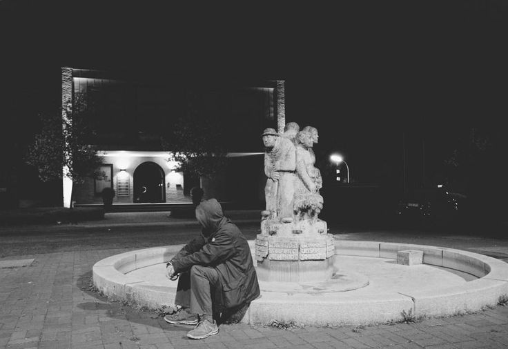 """01:17 am #Grevenbroich #Germany """"Sitting and thinking"""" by @dennis_kopatz as part of the #24hourproject #24hr17 #24hr17_Grevenbroich to support @LesvosSolidarity. For more information please visit @24hourproject #dekography #killyourcity #citykillerz #illgramers #way2ill #agameoftones #urbex #createexplore #exploretocreate #streetactivityteam #streetdreamsmag #neverstopexploring #igersone #shoot2kill #streetshared #streetmobs #urbanphotography #streetphotography #streetexploration…"""