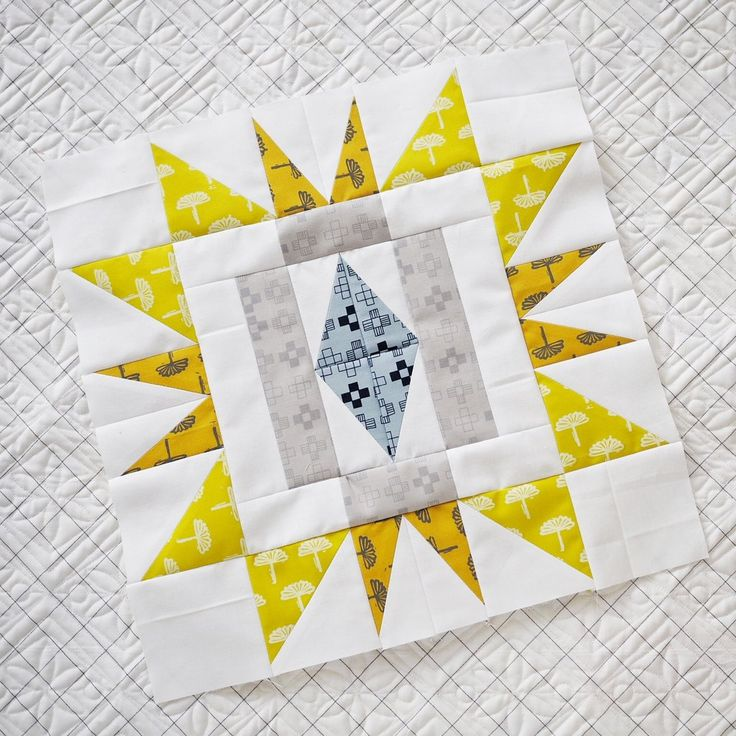 Sienna Burst Quilt Along - Week One – Then Came June