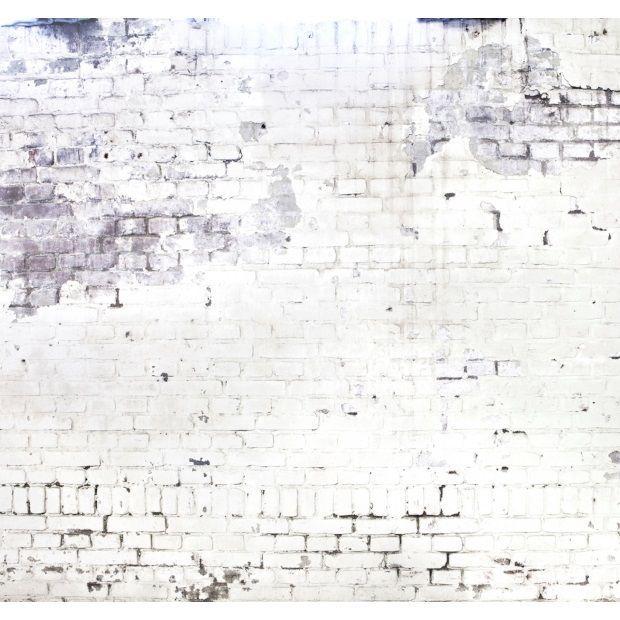 Op muur achter bed: vtwonen Fotobehang 318 x 300 cm - Factory -