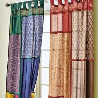 curtains telas y cinta