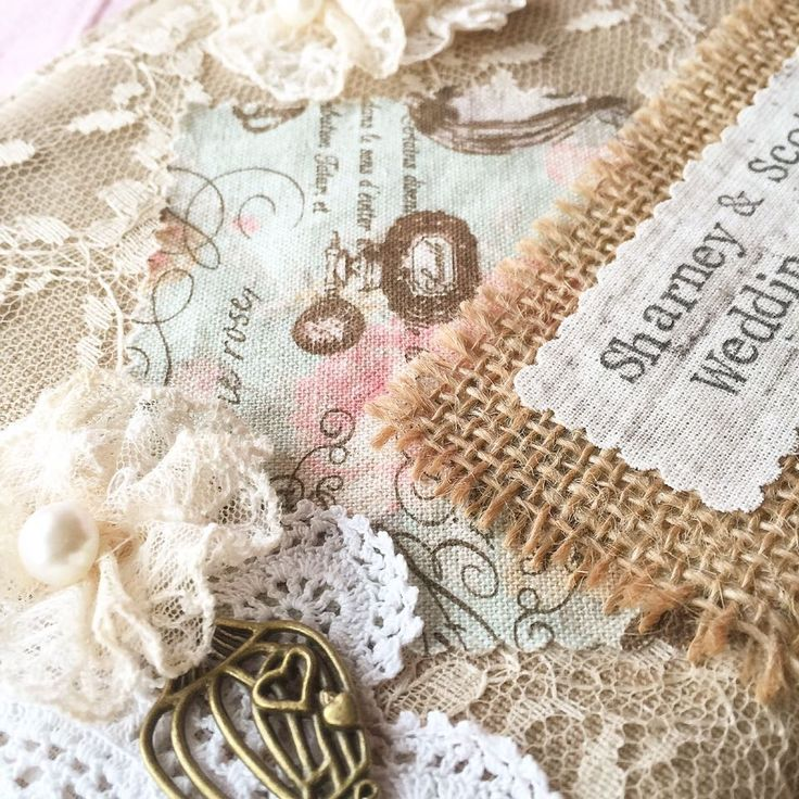 Our gorgeous handmade, A5 sized 'vintage style' fabric covered wedding planner makes a beautiful personalised gift or a gorgeous accessory for a vintage style loving Bride-to-be. The handmade, removable fabric & lace cover is decorated in a vintage style, with various types of lace and