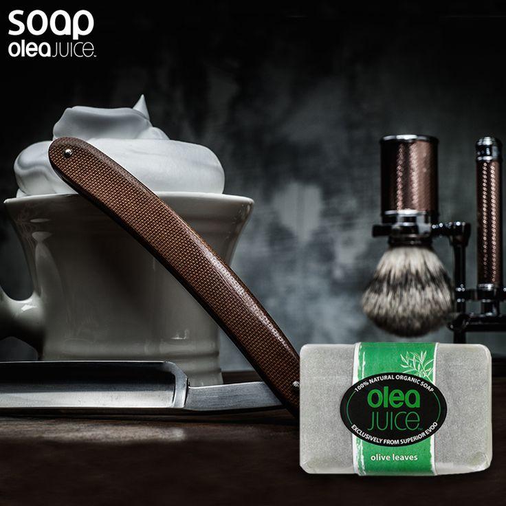 Ποιος είπε ότι η περιποίηση είναι αποκλειστικά γυναικέια υπόθεση;  #Oleatip Η απολέπιση αποκαλύπτει θύλακες των τριχών του προσώπου , επιτρέποντας ένα καλύτερο ξύρισμα. #oleajuicesoap #shaving #scrub #face #Care #olea #handmade #soap