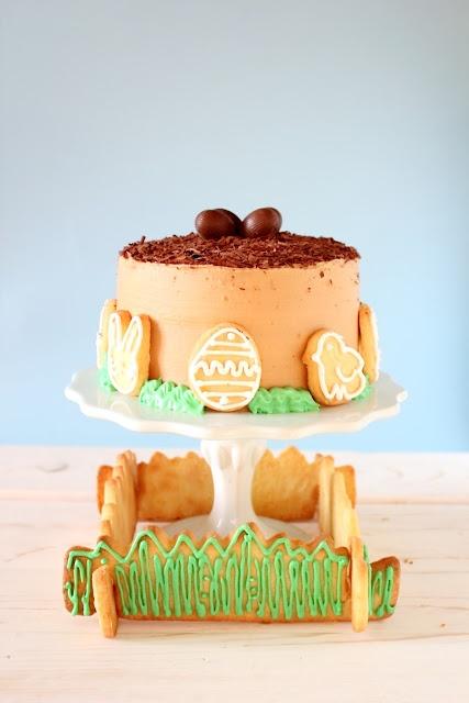 TARTA DE PASCUA AL CAFE  (Easter coffee cake)