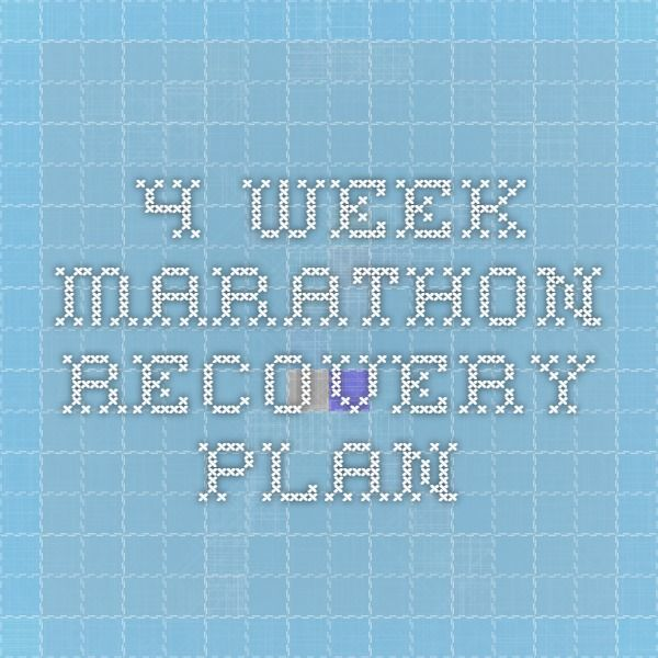 The 25+ best Marathon recovery ideas on Pinterest Foam rolling - recovery plans