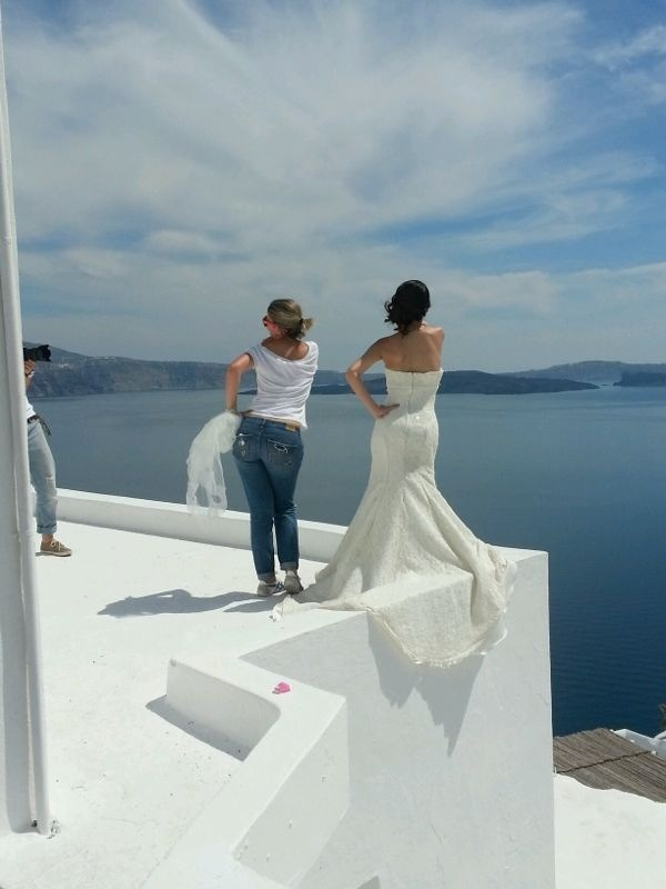 Who said posing is easy???!! @Sunrise Greece
