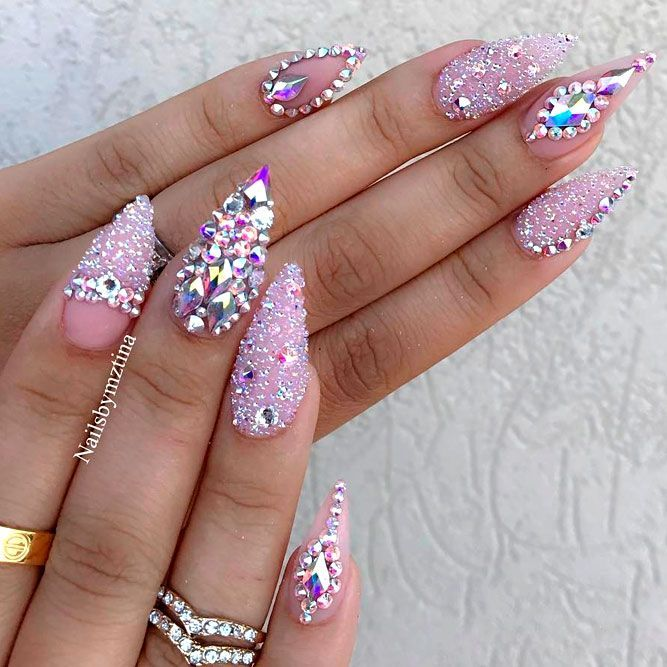 Glamorous Stiletto Nail Designs Youll Adore ★ See more: https://naildesignsjournal.com/stiletto-nail-designs-you-adore/ #nails