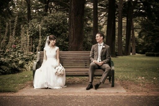 Wedding in Melbourne at the Fitzroy Gardens