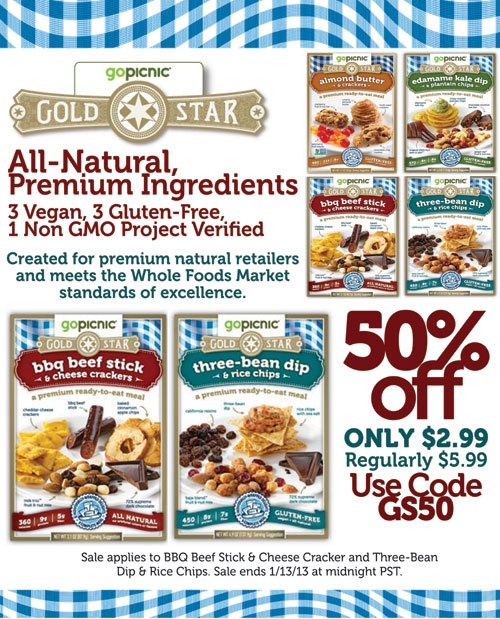 gopicnic meals ready to eat. all natural, and they have