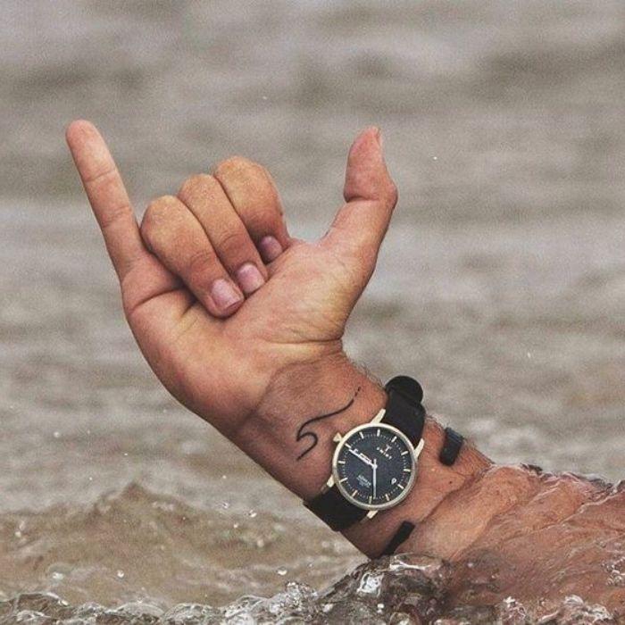 Les 25 Meilleures Idées De La Catégorie Tatouage Mer Sur