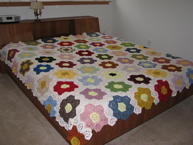 flower garden crochet
