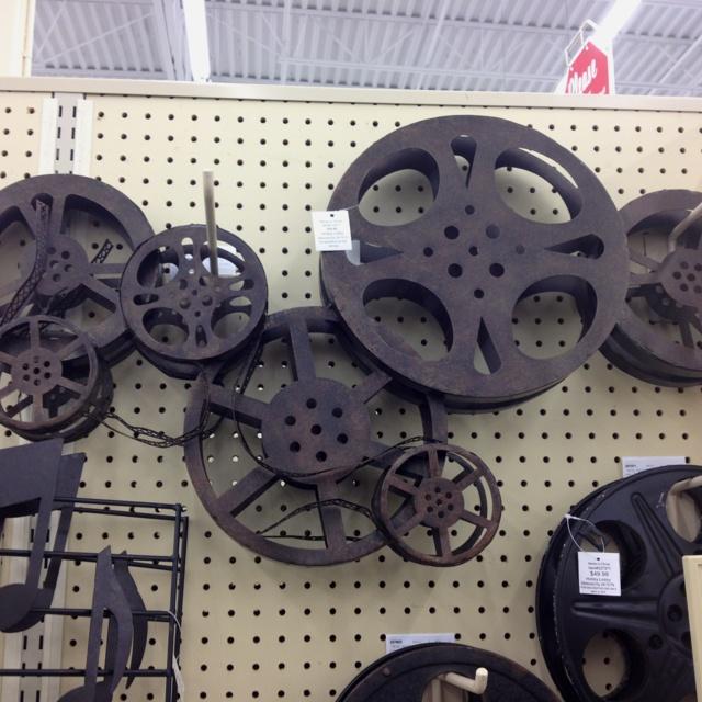 Director\'s Film Cut Theater Wall Art | Movie Decorations | Pinterest ...