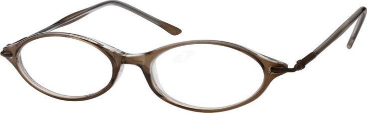 381815 Light Plastic Full-Rim Frame with a 180 Degree Full Swing Spring-Loaded Hinge (Same Appearance as Frame #8818)
