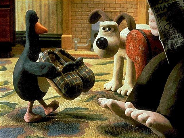 Wallace and Gromit: The Wrong Trousers - Nick Park, dir. - Aardman Studio, United Kingdom (1993) - an Aardman short film