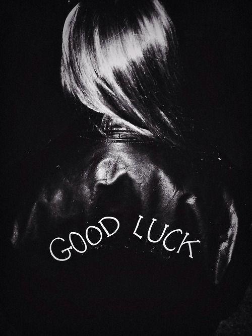 Good Luck. Enough said. #unfollowers