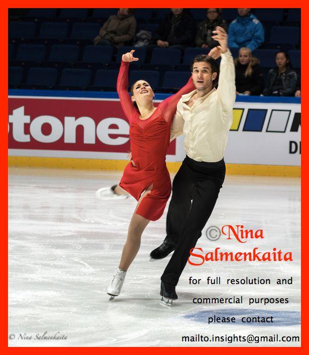 Laurence Fournier Beaudry & Nikolaj Sörensen DEN at Finlandia Trophy October 2015