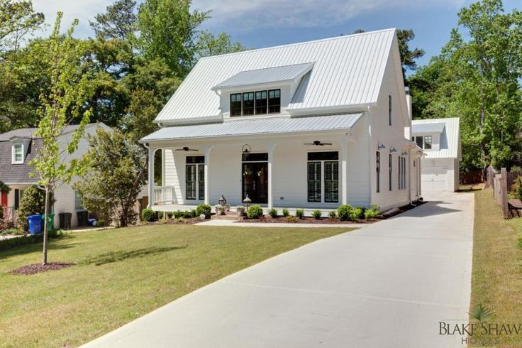 Farmhouse Style in Brookhaven | Blake Shaw Homes | Atlanta, Athens, Custom Homes and Remodeling