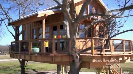 Dream treehouse built by pete nelson for my boys rfdream - Treehouse masters interior ...