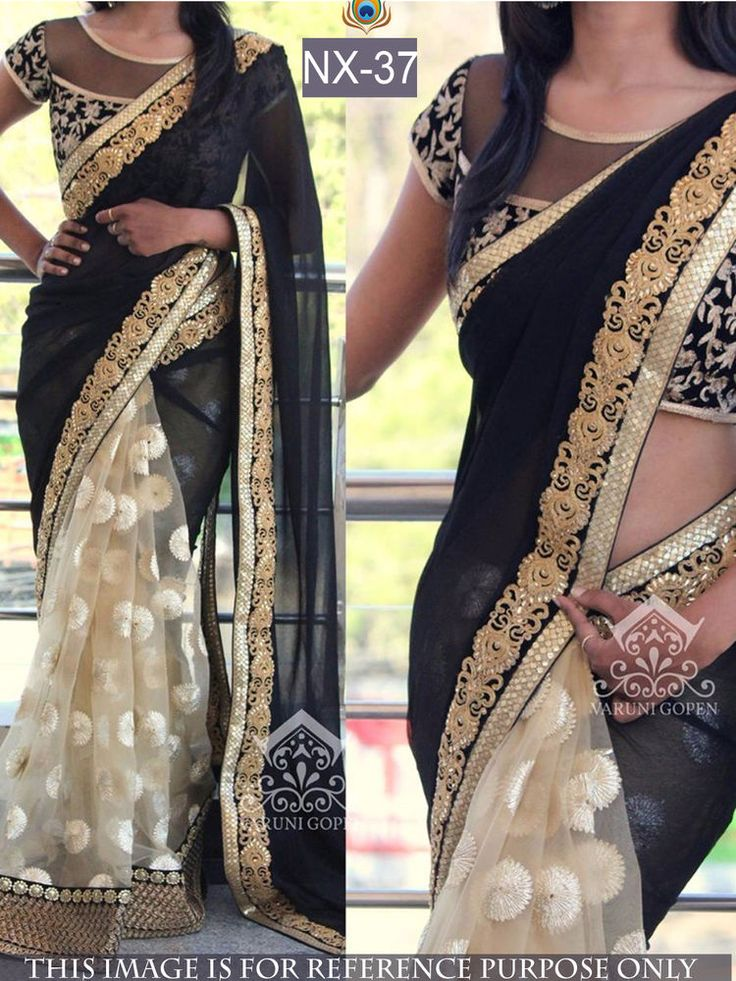 Savvys Bollywood Saree Indian Designer Ethnic Party Wear Lehenga Pakistani NX-37 #SavvysStore #Saree