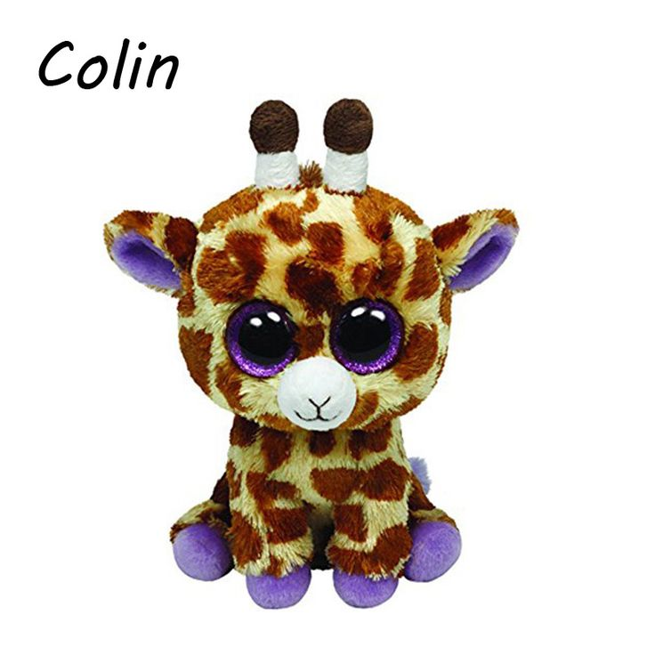 Beanie Boos Original Big Eyes Plush Toy Doll Child Birthday Giraffe  Baby 15cm WJ159 #>=#>=#>=#>=#> Click on the pin to check out discount price, color, size, shipping, etc. Save and like it!