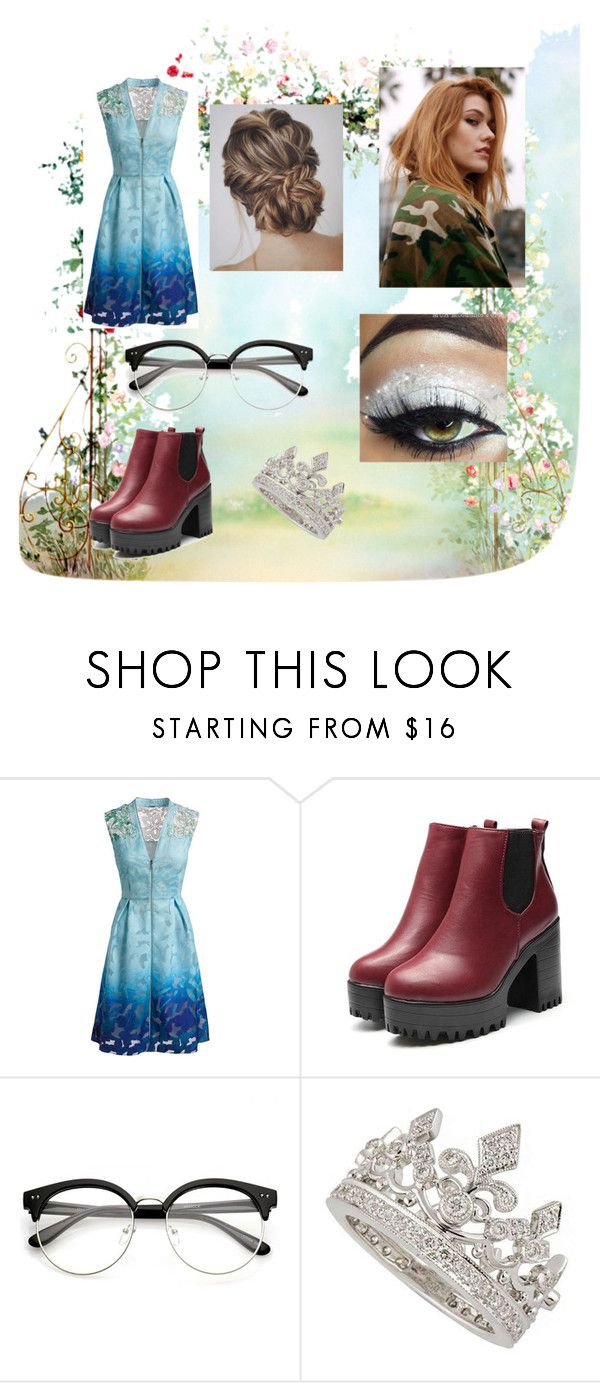 """Descendants💝"" by ssky-1 ❤ liked on Polyvore featuring Elie Tahari and Garrard"