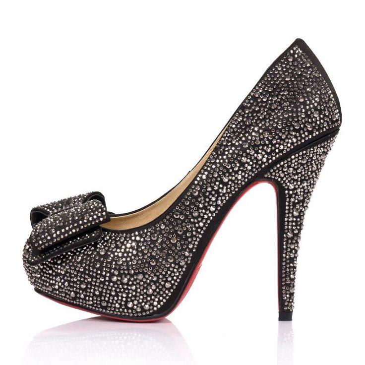 Black diamond high heel
