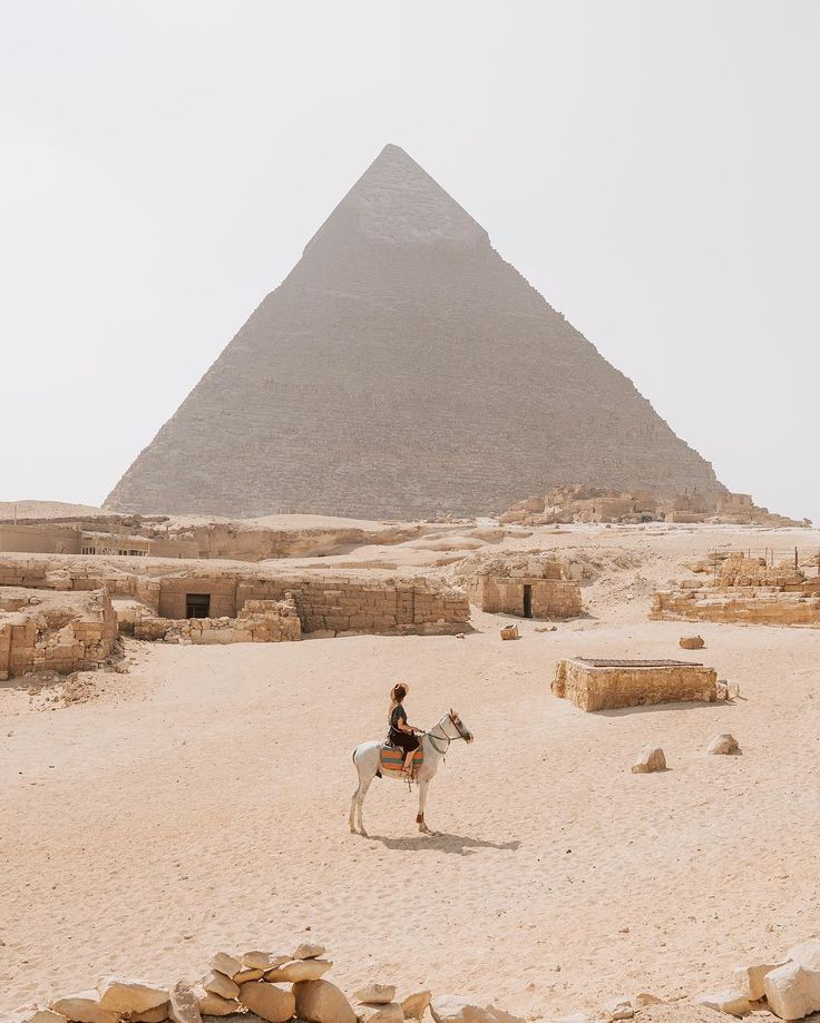 Zip around Cairo for a few days then make your way to the famous Pyramids of Giza, tour the tombs of the Pharoahs or hop on a cruise down the Nile.   Photo: Hello Emilie