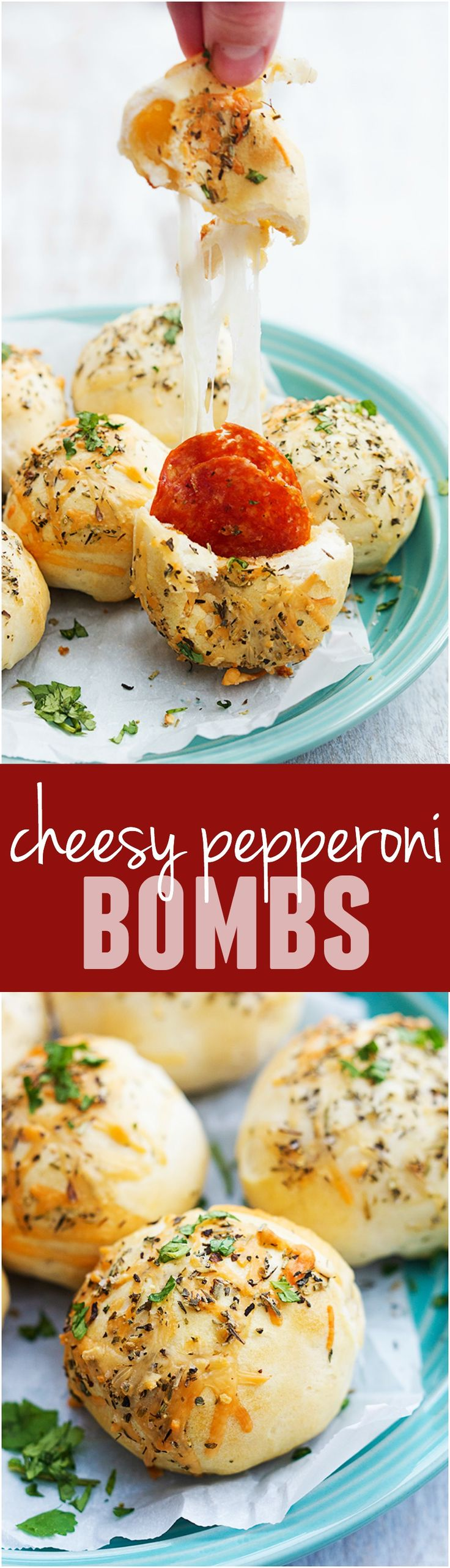 These Cheesy Pepperoni Bombs will be one of the BEST and easiest things you…
