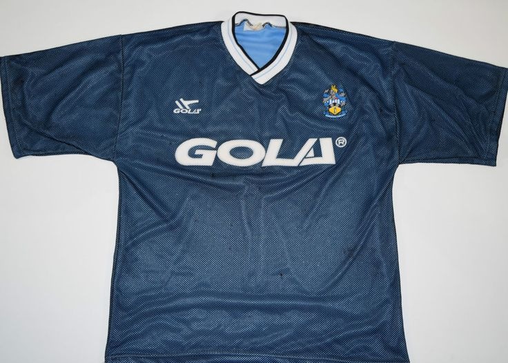 1991-1992 HUDDERSFIELD TOWN GOLA AWAY FOOTBALL SHIRT (SIZE L)